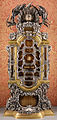 Giovan battista foggini e bernardo holzmann, reliquiario del velo di sant'agata e altre reliquie, 1710-14.JPG