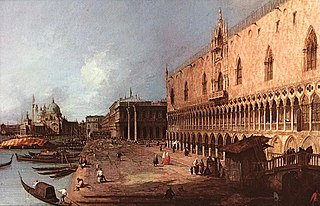 View of the Molo, Venice
