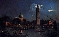Giovanni Antonio Canal, il Canaletto - The Vigilia di San Pietro - WGA03968.jpg