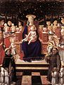 Giovanni di Piermatteo Boccati - Virgin and Child with Saints (detail) - WGA02322.jpg