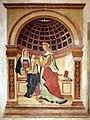 Giovanni maria tolosani, affreschi devozionali, madonna col bambino e s. caterina, 1515-30 ca.jpg