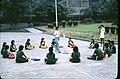 Girl guides at National Revolutionary Martyr's Shrine 19780811.jpg