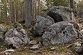 Glacial erratics of Storpetas in Päiväkumpu, Vantaa, Finland, 2021 April.jpg