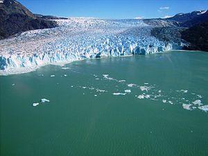 O'Higgins Glacier - Image: Glaciar O'Higgins o Ventisquero Grande