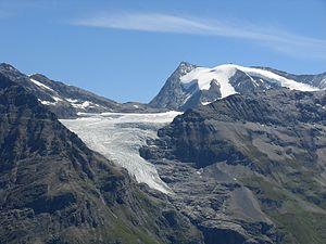 Giétro Glacier - Image: Glacier giétro