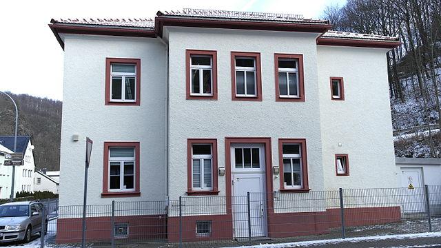 Glashütte (Sachsen), Fa. Bruno Söhnle, Eingangseite