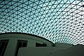 Glass and steel roof of the Great Court, British Museum, London - panoramio (10).jpg