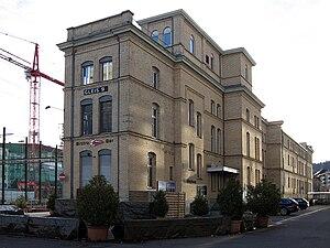 Maschinenfabrik Oerlikon - Gleis 9, the former offices of Maschinenfabrik Oerlikon