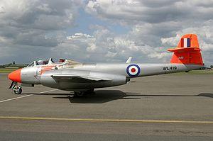 Little Rissington UFO incident - Gloster Meteor T.7