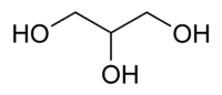 Glycerine chemical structure.png