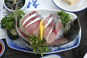 Chub mackerel - Image: Godeungeo hoe