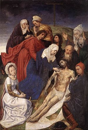 Vienna Diptych - Lamentation (right panel)