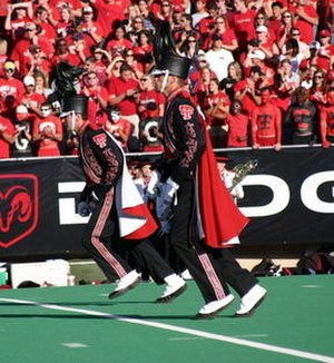 Goin' Band from Raiderland - Texas Tech's Goin' Band from Raiderland Drum Majors Phil Flynn and Drew Wyrick