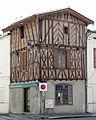 Gontaud-de-Nogaret - Maison à colombage -2.JPG