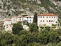 Gorbio et le château des comtes de Malaucène.JPG