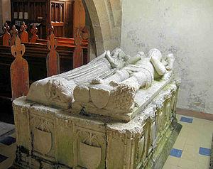 St Gredifael's Church, Penmynydd - The tomb of Goronwy ap Tudur
