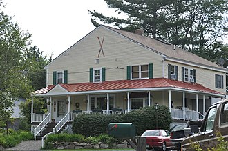 National Register of Historic Places listings in Sullivan County, New Hampshire - Image: Goshen NH Backside Inn