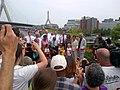 Governor Patrick, North Bank Bridge Ribboncutting, July 13, 2012 (7563550446).jpg