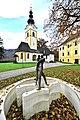 Grafenstein Krkoška-Brunnen vor der Pfarrkirche hl. Stefan 05112011 122.jpg