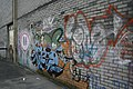 Graffiti by the exit - geograph.org.uk - 1233982.jpg