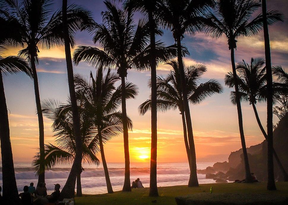 Grand Anse Beach Reunion Island