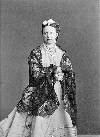 Duchess Alexandra Petrovna of Oldenburg - Grand Duchess Alexandra Petrovna. Princess Alexandra of Oldenburg. Early 1860s.