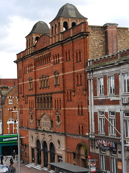 Le Clapham Grand, théâtre à St Johns Hill, Clapham Junction.