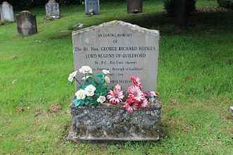 Richard Nugent, Baron Nugent of Guildford - Grave in Dunsfold, Surrey
