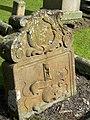 Gravestone In Athelstaneford Churchyard - geograph.org.uk - 1431595.jpg