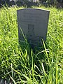 Gravestone of Gunner W.J. Moses, Royal Garrison Artillery, in churchyard of St James, Rudry, May 2020.jpg