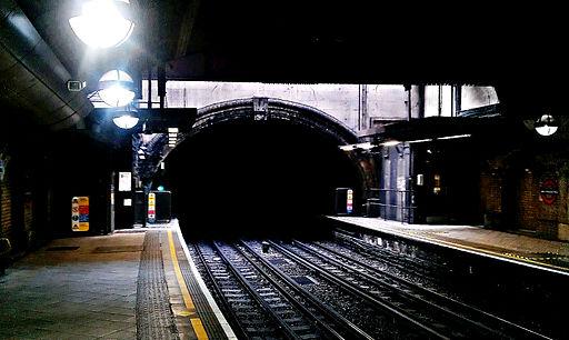 Great Portland Street Underground Station Tunnel Entrance Sept2011