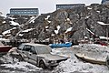 Greenland 10, Nuuk, harbour, Kilisaatinut.JPG