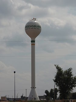 Greensburg Water Tower, 2009