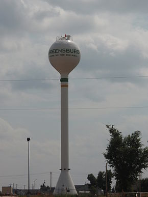 Greensburg kansas watertower 2009.jpg