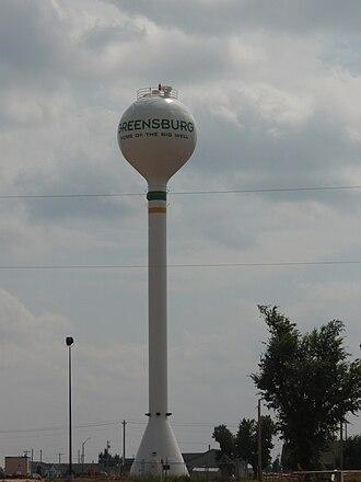 Greensburg, Kansas - Greensburg Water Tower (2009)