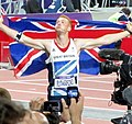 Greg Rutherford's lap of honour (773855314).jpg