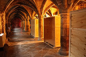 Greyfriars, Lincoln - The Undercroft