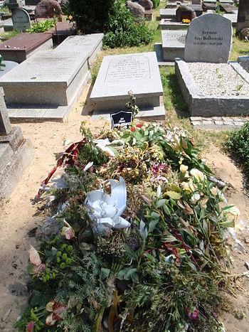 Grob Ninel Kameraz-Kos-Grave of Ninel Kameraz-Kos