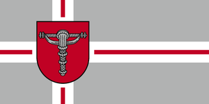 Grobiņa Municipality - Image: Grobiņas novads Flag