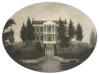 Polk Place - Original Shown as Grundy Place
