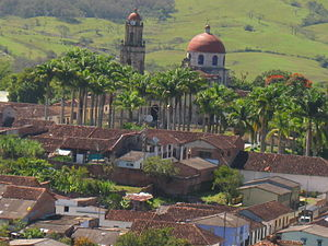 Guadalupe, Santander - Vista Guadalupe, Santander, Colombia