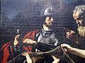 Guercino (attr.), scena mitologica con crono che ammonisce eros alla presenza di afrodite e ares, xvii sec. 02.JPG
