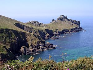 Promontory forts of Cornwall - Gurnard's Head cliff castle