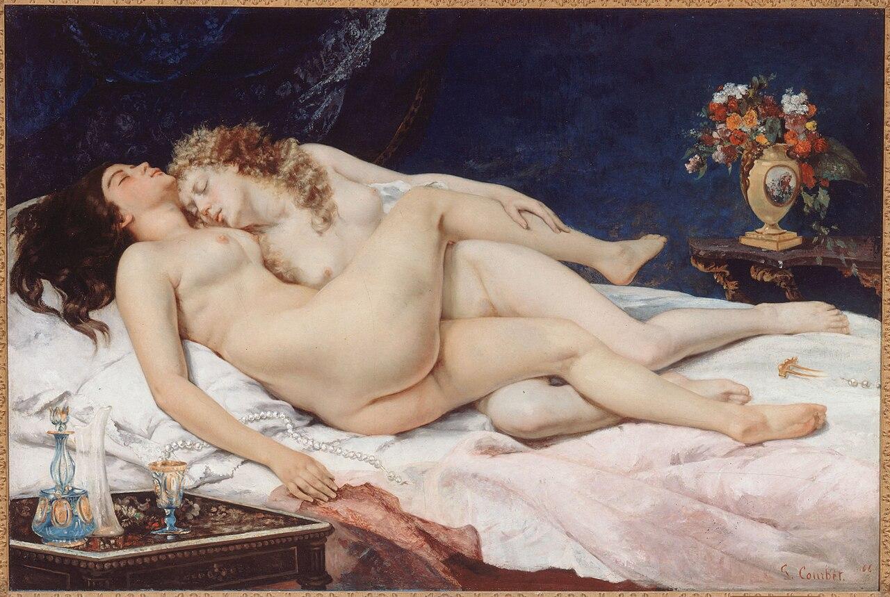 Gustave Courbet - Le Sommeil (1866), Paris, Petit Palais.jpg