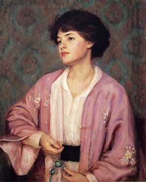 Lavalier - The Lavalier by Guy Rose