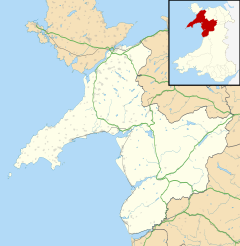Y Rhiw is located in Gwynedd