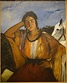 Gypsy with a Cigarette, by Edouard Manet, French, undated, oil on canvas - Princeton University Art Museum - DSC07031.jpg