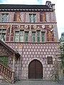 Hôtel de ville de Mulhouse Partie droite de la façade principale.jpg