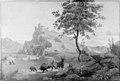 H.W. Bissen - Italiensk landskab - KMS3301 - Statens Museum for Kunst.jpg