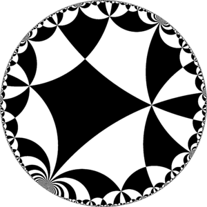 Truncated infinite-order square tiling - Image: H2chess 44ie